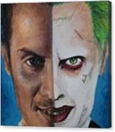 Moriarty And The Joker Canvas Print