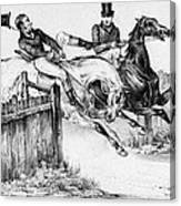 Horseback Riders, C1840 Canvas Print