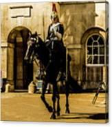 Horseguards. Canvas Print