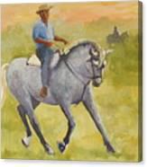 Horseman 3 Canvas Print