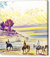 Horsemen Canvas Print