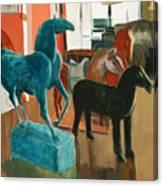 Horses Four Canvas Print