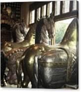 Horses Of Santa Fe Canvas Print