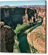 Horseshoe Bend Arizona Colorado River  Canvas Print