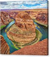 Horseshoe Bend - Colorado River - Arizona Canvas Print