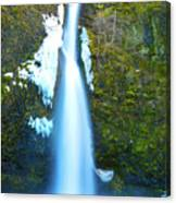 Horsetail Falls Canvas Print