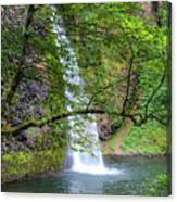 Horsetail Falls, Oregon Canvas Print