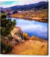 Horsetooth Lake Overlook Canvas Print