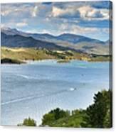 Horsetooth Reservoir Canvas Print