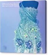Horticouture Vogue Dress Exhibit Canvas Print