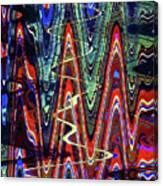 Hospital Construction Abstract #4 Canvas Print