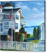 Hospital Point Light  Canvas Print