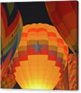 Hot Aie Balloons Canvas Print
