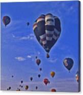 Hot Air Balloon - 14 Canvas Print