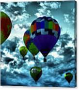 Hot Air Balloons In Albuquerque Canvas Print