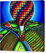 Hot Air Kats Canvas Print
