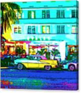 Hot Avalon Canvas Print