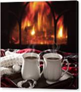 Hot Chocolate Drinks Canvas Print