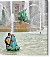 Hot Day In Philly Canvas Print