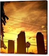 Hot Day On The Strip Canvas Print