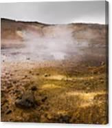 Hot Earth Canvas Print