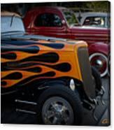 Hot Road Canvas Print