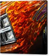 Hot Rod Chevrolet Scotsdale 1978 Canvas Print