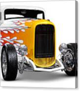 Hot Rod Ford Hi-boy Coupe 1932 Canvas Print