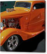 Hot Rod Orange Canvas Print