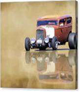 Hot Rod Reflection Canvas Print