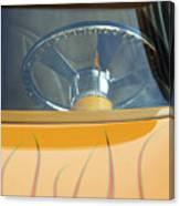 Hot Rod Steering Wheel 2 Canvas Print