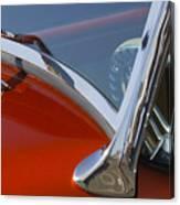 Hot Rod Steering Wheel 4 Canvas Print