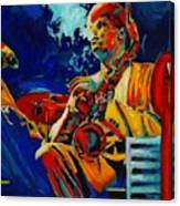 Hot Sax Canvas Print