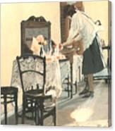 Hot Scones For Tea Canvas Print