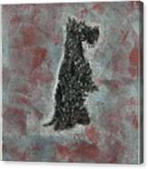 Hot Scottie Canvas Print