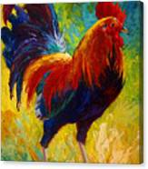 Hot Shot - Rooster Canvas Print