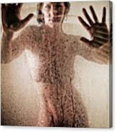 Hot Shower Canvas Print