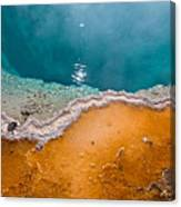 Hot Spring Detail Canvas Print