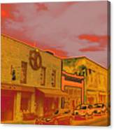 Hot Streets Canvas Print