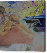 Hot Tub Canvas Print