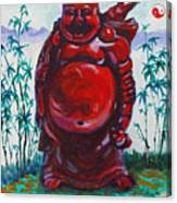 Hotai The Laughing Buddha Canvas Print