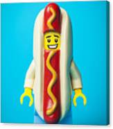 Hotdog Dude Canvas Print