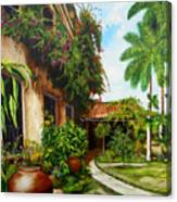Hotel Camaguey Canvas Print
