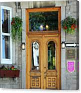 Hotel Ermitage Quebec City  6526 Canvas Print