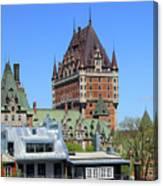Hotel Fairmont Le Chateau Frontenac 6496 Canvas Print