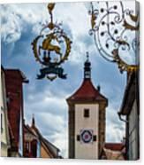 Hotel Goldener Hirsch Canvas Print