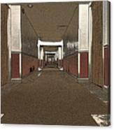Hotel Hallway. Canvas Print