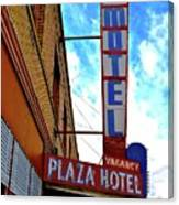 Hotel Motel Canvas Print