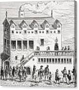 Hotel Of The Chamber Of Accounts In The Canvas Print