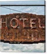 Hotel Pontotoc Canvas Print